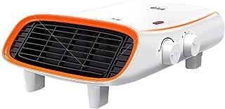 JF A Calentador de Ventilador Plano a Prueba de Agua/Vertical/montado en la Pared, termostato silencioso del radiador eléctrico y Corte de Seguridad 4 configuraciones de Calor, para el hogar y la ofi