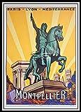 PostersAndCo TM Montpellier Rnsa Poster / Kunstdruck 60 x