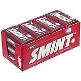 Smint Tin Fresa, Caramelo Comprimido Sin Azúcar - 12 unidades de 35 gr. (Total 420 gr.)