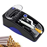 NEWTRY Cigarette Rolling Machine Electric Automatic Injector Mini Tobacco Roller Maker Cigarette Maker DIY Smoking Tool for Cigarette Making (Blue)