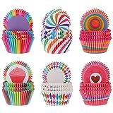 Opopark 600 Pezzi Pirottini di Carta per Muffin Cupcakes e Caramelle, Fodere per Cupcake per Feste di Compleanno Matrimoni Baby Shower