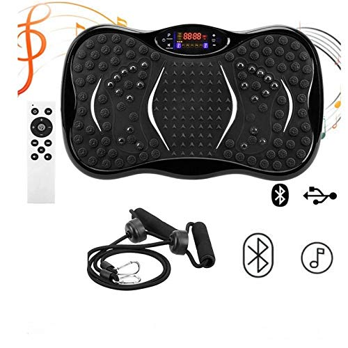 WEIZI Vibrationsplatte Crazy Fit Body Shaker Massage Fitness-Trainingsgerät Oszillierende Kraft Vibrierende Home Power Platte Fitness-Trainer Ganzkörpertrainer