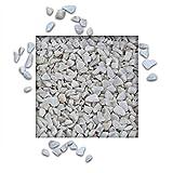 Marmorsplitt Carrara Weiss 8