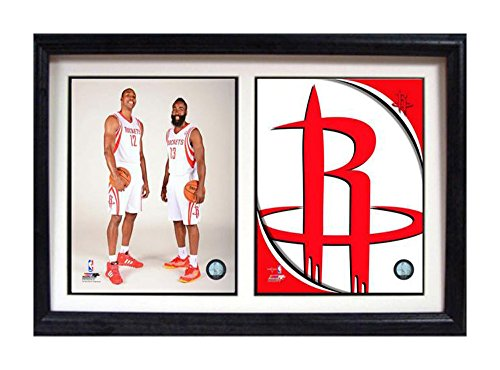 Encore Select 122 – 37 NBA Houston Rockets dinámico Duo doble marco, con dos imágenes, 30,5 cm por 45,7 cm