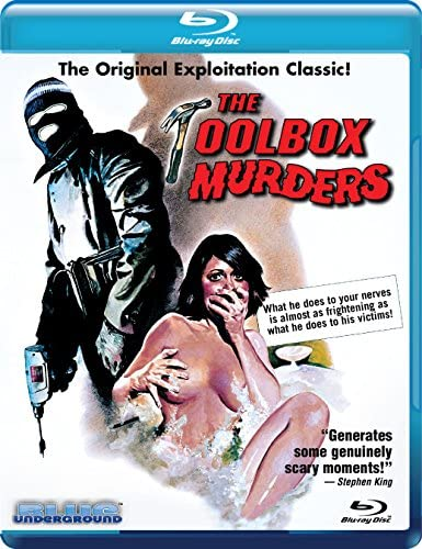 The Toolbox Murders Blu ray product image