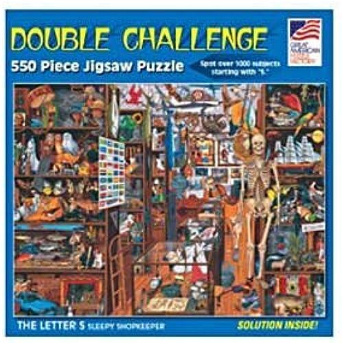 Great American Puzzle Factory Sleepy Shopkeeper 550 Piece Puzzle by Great American Puzzle Factory