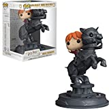 Funko- Pop Vinyl: Movie Moments: Harry Potter S5: Ron Riding Chess Piece Idea Regalo, Statue, COLLEZIONABILI, Comics, Manga, Serie TV, Multicolore, Standard, 35518