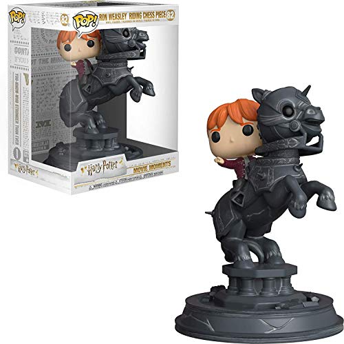 Funko POP! Movie Moments Harry Potter: Ron jugando al ajedrez
