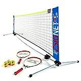 Zsig ZSS-10-MT-E, Mini Tennis Set Unisex, Multicolore, 3 m
