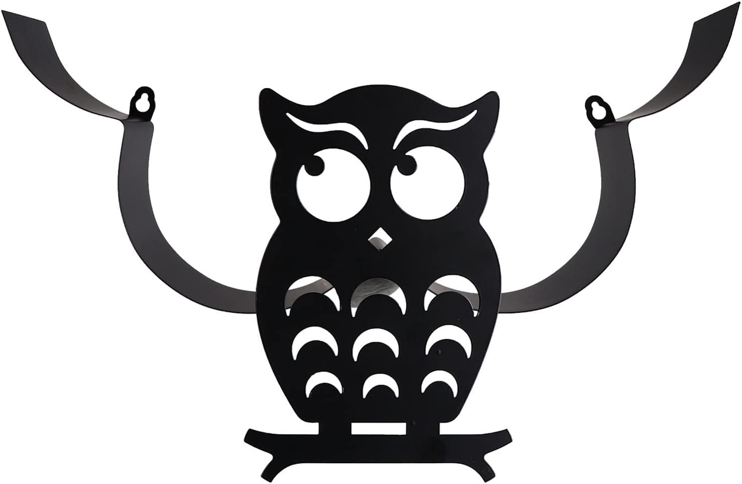 BESPORTBLE Toilet Baltimore Mall Paper Holder Funny Owl Sale Bathroom Art Arm