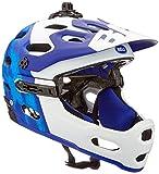 BELL Casco Super 3R MIPS, Unisex, Color Matte Force Blue/White, tamaño L