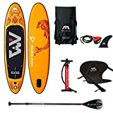 Aqua Marina Sup Board Stand Up Paddle AQUAMARINA Fusion 2019 Paquete completo 315 x 76 x 15 cm con asiento de kayak