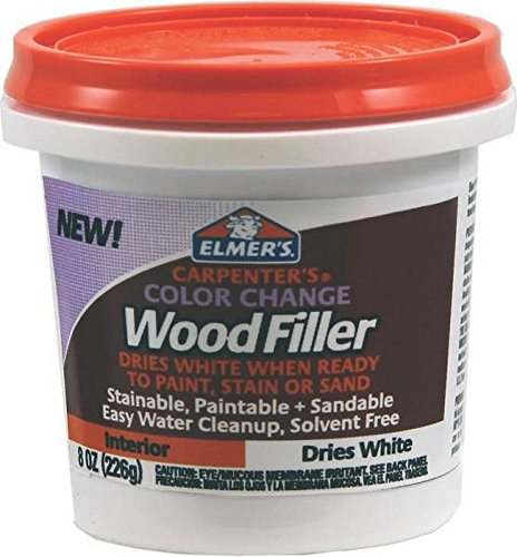 Great Deal! Elmer's E916 8 Oz White Carpenter's Color Change Wood Filler
