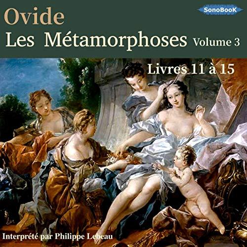 Couverture de Les Métamorphoses d'Ovide 3