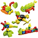 Magnetic Building Blocks, Freely Combination Large Magnetic Blocks for Kids, Sensory Toys for Toddler, Early Educational...