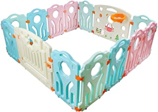 10 Panel Baby Playpen KidsToddler Children Safety Divider Fence Indoor 50 Balls Premium Quality Child Playpen Toddler Baby...
