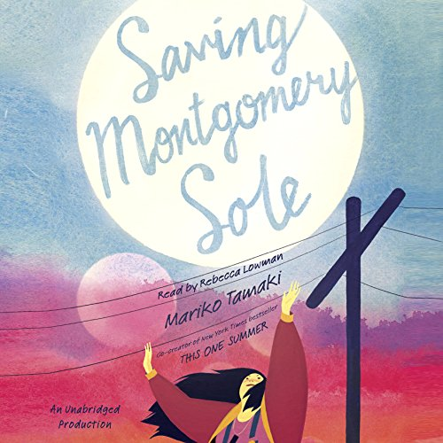 Saving Montgomery Sole audiobook cover art