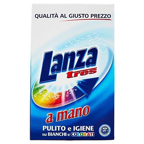 Lanza Detersivo per Bucato a Mano, Pulito e Igiene su Bianchi e Colorati - 570 gr