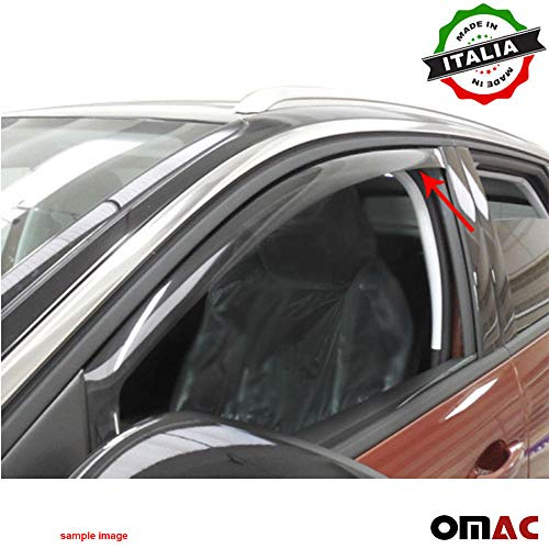 OMAC Mazda CX-7 Windabweiser Regenabweiser 2 TLG Satz vorne ab 2007