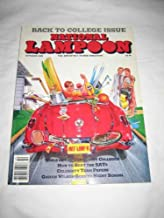 National Lampoon Oct 1989 Back to College Girls of Community Colleges Beat SATs