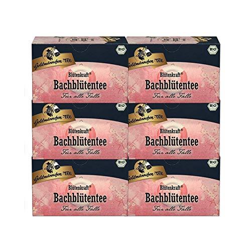 Goldmännchen-TEE Blütenkraft Bachblütentee Rettung - Für alle Fälle, 6er Pack