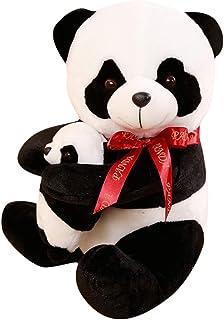 TOYANDONA Plush Panda Doll Stuffed Gaint Panda Toy Cute Animal Figurine Doll Hugging Pillow Kid Animal Toy for Kid Baby To...