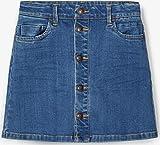 Name It NKFTECOS DNM 3397 A-Shape Skirt Noos Jupe, Bleu foncé Denim, 6 Ans Garçon