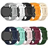 Bands Compatible with Michael Kors Bradshaw Replacement Wristbands Accessory Colourful Silicone Bracelet Quick Release Strap Arm Bands for MK Access Gen 5 Bradshaw Smartwatch