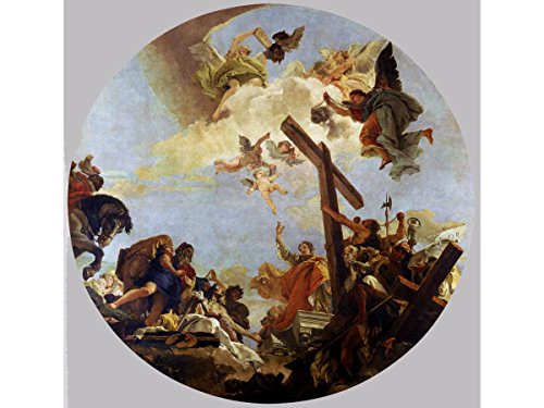 The Discovery of The True Cross and St. Helena by Giovanni Battista Tiepolo