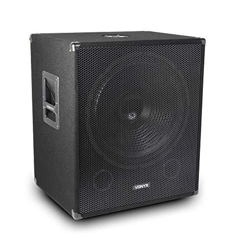 VONYX Speaker Subwoofer Deep Low Bass Sub DJ Disco Club Party 18' 1000w...