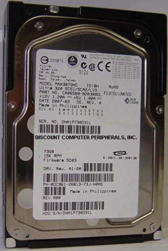 Fujitsu CA06560-B20300DL 73GB 15K RPM U320 68PIN SCSI 73gb 15k Rpm U320 Scsi