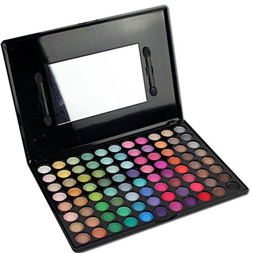 MUUZONING 88 Farben Lidschatten Makeup Palette Set -Schimmer Matt Pigment Lidschatten Palette Beauty Make-up - Satte Farben Kosmetik Eyeshadow Palette Kit - Perfekt für Profi-und tägliche #2