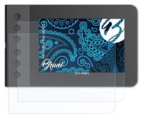 Bruni Schutzfolie kompatibel mit XP-Pen Star G640S Folie, glasklare Bildschirmschutzfolie (2X)