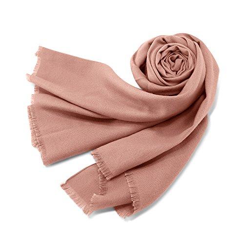 Oct17 Women Large Scarf Soft Cashmere Feel Pashmina warm Shawls Wraps Winter...