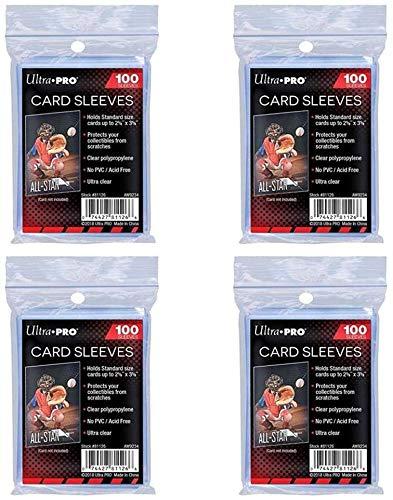 100 Ultra Pro Regular Soft Sleeves