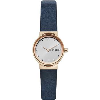 Skagen Womens Analogue Quartz Watch with Leather Strap SKW2744