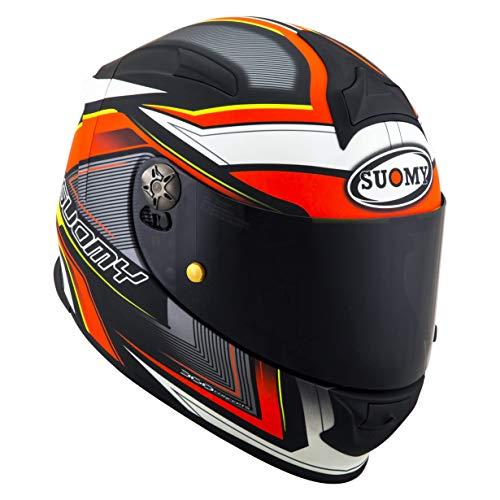 Suomy Helm Sr-Sport Engine, Matt Black/Red, M