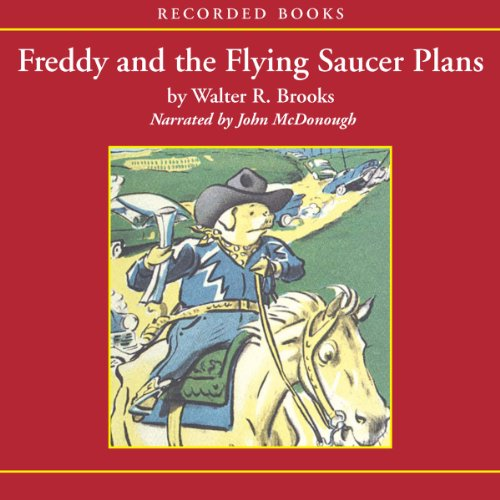 Freddy and the Flying Saucer Plans  cover art