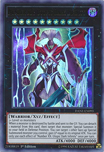 Yu-Gi-Oh! - Number XX: Utopic Dark Infinity - DANE-EN093 - Ultra Rare - 1st Edition - Dark Neostorm