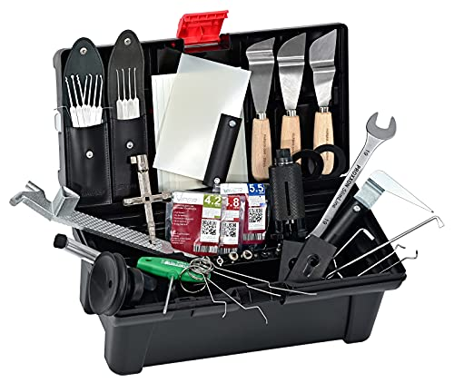 Multipick Hausmeister Kiste Pro II – Türöffner Werkzeug-Set im Koffer zum Öffnen verschiedener Schlösser und Türen - Profi Set - Türöffnungswerkzeug made in Germany