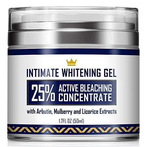 top 10 whitening cream Intimate Whitening Cream – Made in USA – Skin Whitening Gel for Body, Face, Bikini and Sensitive Skin.