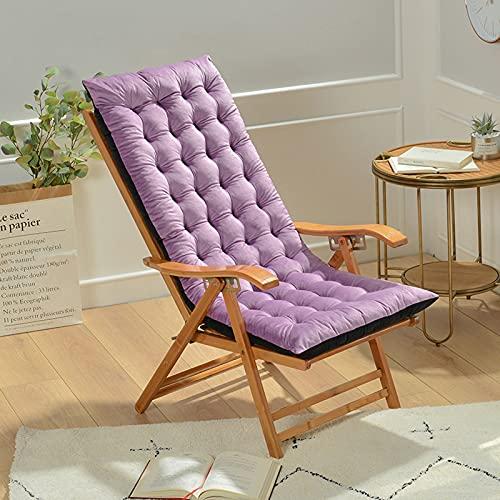 MIAOLEIE Cojín antideslizante de 124,5 x 50,8 x 10,16 cm de altura para silla mecedora sofá