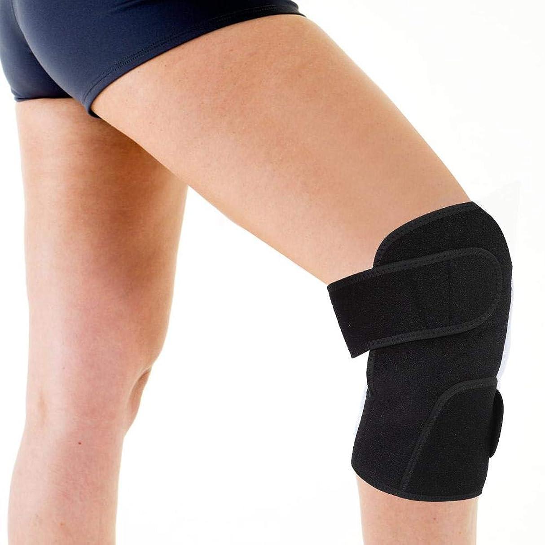 明らかに面白いうがい薬加熱膝パッド、電熱膝ブレース加熱保温のための柔軟な機動性を備えた鎮痛膝サポートコンプレッサー