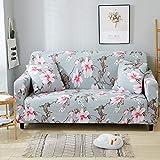 ASCV Funda de sofá elástica Funda de sofá seccional Lavable elástica para Sala de Estar Funda de sofá en Forma de L Funda de sillón A9 2 plazas