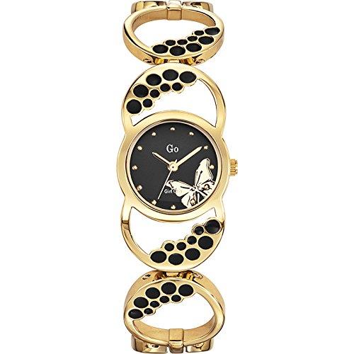Go Girl Only 694808 - Reloj analógico de Cuarzo para Mujer, Correa de Metal Color marrón
