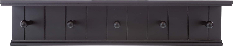 kieragrace Kian Wall Max 49% OFF Shelf with Five Black 24