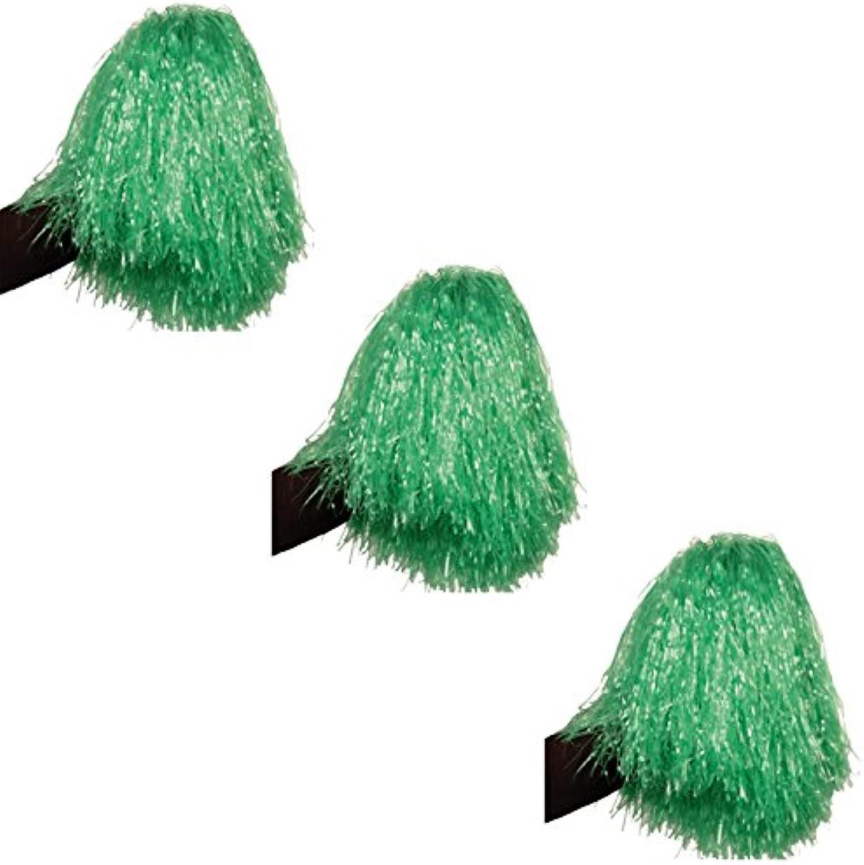 PARTY DISCOUNT SPARPACK  Pom Pom   Cheerball grün, 150 g, 12 Stk. B00OKNKC10 Billig ideal | Deutschland München