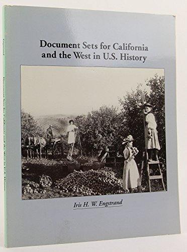 Document Sets for California and the West in United States History