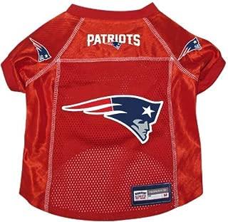 New England Patriots Pet Dog Football Jersey Alt. Red MEDIUM