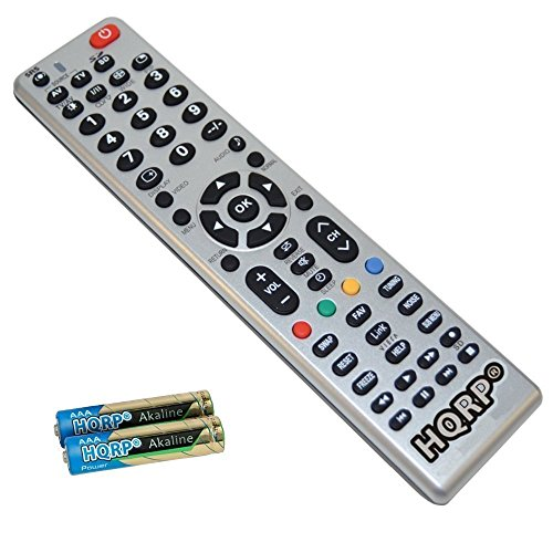 HQRP Fernbedienung Fuer Panasonic LED-Fernseher Viera TX-24ASW504, TX-32ASW504, TX-39ASW504, TX-50ASW504 Smart TV